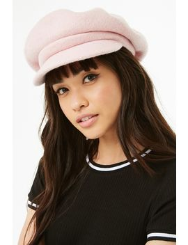 Plush Knit Cabby Hat by Forever 21