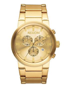Nixon Cannon Chrono Gold Watch by Nixon Watches