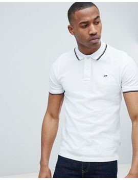 Jack & Jones Essentials Polo Shirt With Tipping by Jack & Jones