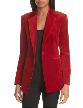 Stretch Cotton Power Jacket by Theory