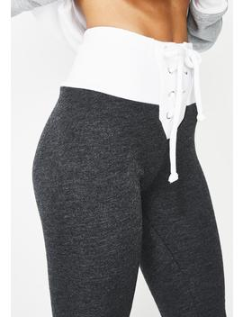 Contrast Fifi Skinny Sweats by Wildfox Couture