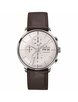Junghans Mens Watch Meister Chronoscope Silver Dial Day Date 027/4120.01 by Junghans