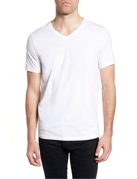 Hugo Dandre Slim Fit V Neck T Shirt by Boss