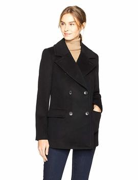 Haven Outerwear Women's Double Breasted Wool Peacoat by Haven+Outerwear