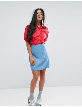 Sister Jane Petite Blouse With Broderie Trim by Sister Jane Petite