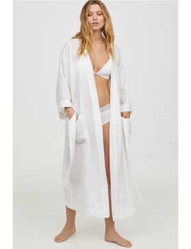 Linen Bathrobe by H&M
