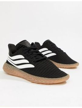 Adidas Originals Sobakov Trainers In Black Aq1135 by Adidas Originals