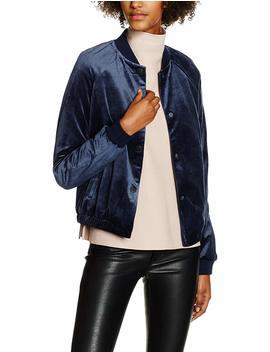 Vero Moda Women's Vmpetra W/L Bomber Dnm Jacket by
