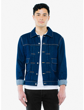 Denim Trucker Jacket by American Apparel