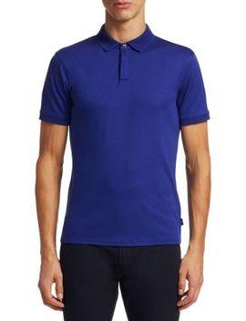 Pique Polo Shirt by Emporio Armani