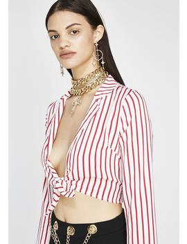 That New New Striped Blouse by Emory Park