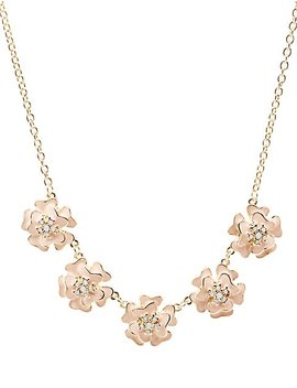 Floral Necklace by Charlotte Russe
