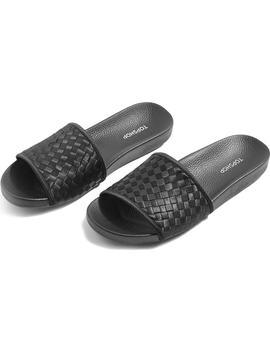 Remi Woven Slide Sandal by Topshop