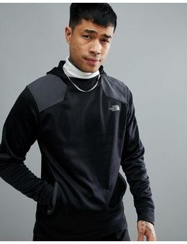 The North Face Mountain Athletics Running Ampere Hoodie In Black by The North Face