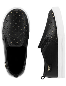 Osh Kosh Glitter Slip On Shoes by Oshkosh