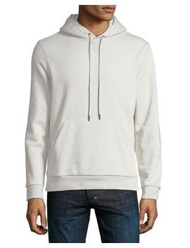 Essential Pullover Fleece Hoodie by Neiman Marcus