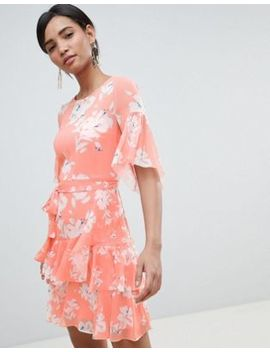 French Connection Floral Flippy Dress by French Connection