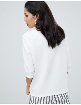 Boss Casual Pleat Detail Shell Top by Boss