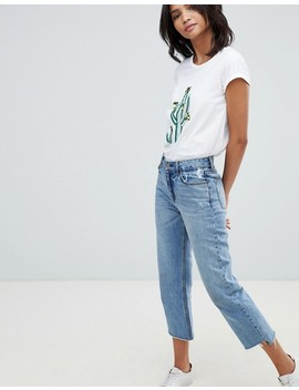 French Connection Embellished Cactus T Shirt by French Connection