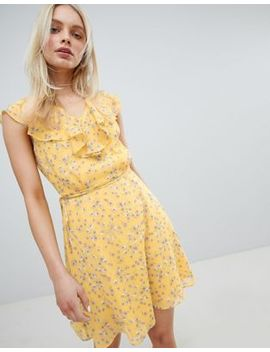 Jack Wills Frill Floral Printed Dress by Jack Wills