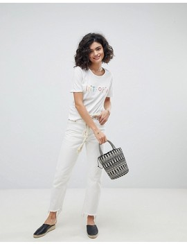 Intropia Embroidered T Shirt by Intropia