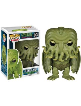 Funko Pop Literature: Hp Lovecraft Cthulhu Action Figure by Fun Ko
