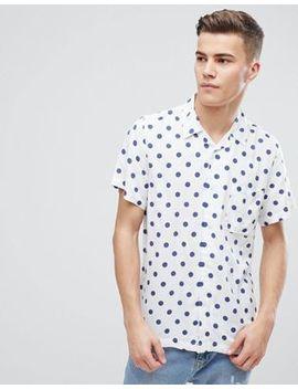 D Struct Vintage Polka Dot  Shirt by Shirt