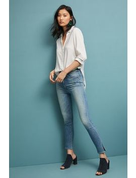 Mother The Swooner Ultra High Rise Skinny Ankle Jeans by Mother