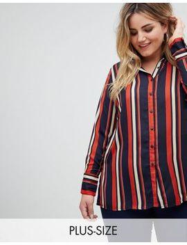 New Look Plus Stripe Shirt by Asos Brand