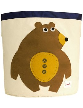 3 Sprouts Storage Bin, Bear by 3 Sprouts
