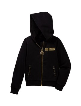 Studded Hoody (Toddler & Little Girls) by True Religion