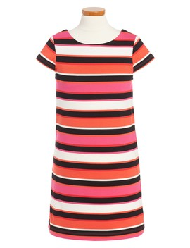 Bow Back Shift Dress (Toddler & Little Girls) by Kate Spade New York