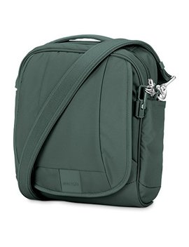 Pacsafe Metrosafe Ls200 Anti Theft Shoulder Bag, Pine Green by Pacsafe