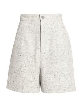 Bouclé Cotton Tweed Shorts by Isabel Marant