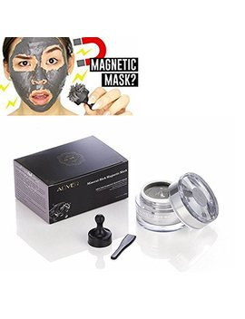 Al'iver Magnetic Face Mask Mineral Rich Magnet Mask With Magnet Pore Cleansing Removes Skin Impurities 1.7 Oz by Al'iver