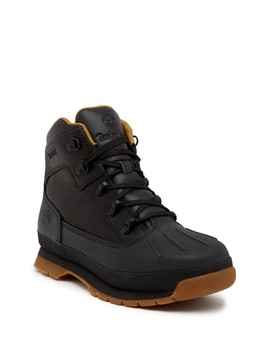 Eurohiker Shell Waterproof Boot (Big Kid) by Timberland