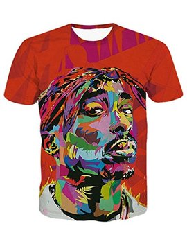 Chiclook Cool Hipster T Shirt Men Women Hip Hop 3 D Clothing Tops Swag T Shirt by Chiclook Cool