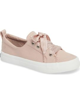 Crest Vibe Satin Lace Sneaker by Sperry