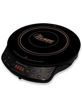 Nu Wave Pic Gold 1500 W Portable Induction Cooktop Countertop Burner, Gold by Nu Wave