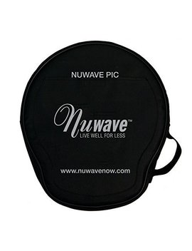 Nu Wave P.I.C. Padded Carrying Case Travel Storage by Nu Wave