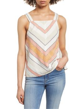 Stripe Linen Tank by Bp.
