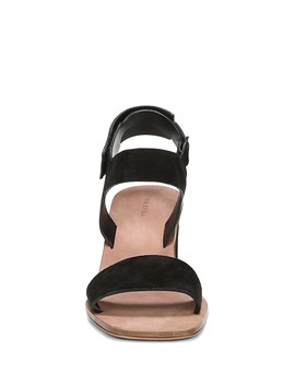 Women's Kamille Suede Block Heel Ankle Strap Sandals  by Via Spiga