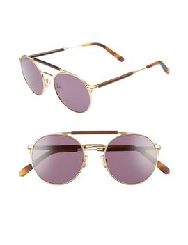 Bandon 52mm Round Sunglasses by Shwood