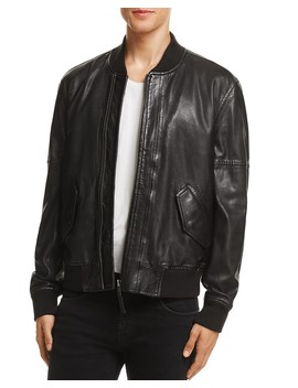 Leather Baseball Jacket   100 Percents Exclusive  by Blanknyc