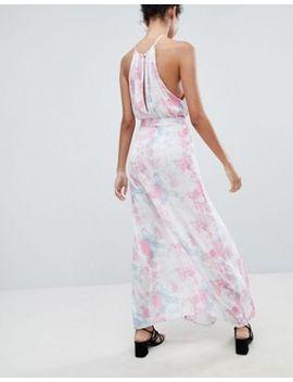 Influence Tie Dye Side Split Beach Dress by Dress