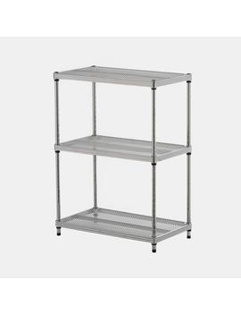 3 Shelf Mesh Shelving Unit3 Shelf Mesh Shelving Unit by Dormify