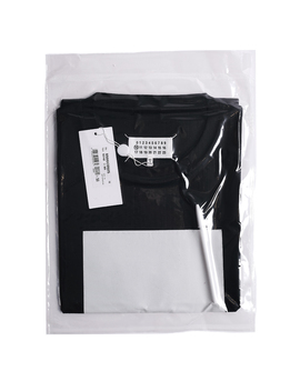 Leave A Message Black T Shirt by Maison Margiela