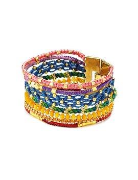 Chakra Cuff Bracelet by Lis Giròn