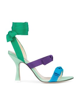 Bow Strap Heel Sandals by Attico