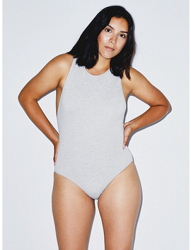 Racerback Bodysuit by American Apparel